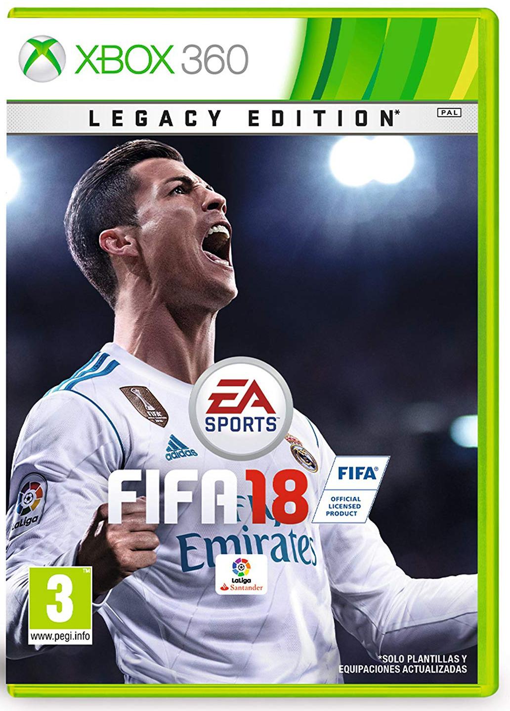 FIFA 18 - Edición legacy-amazon