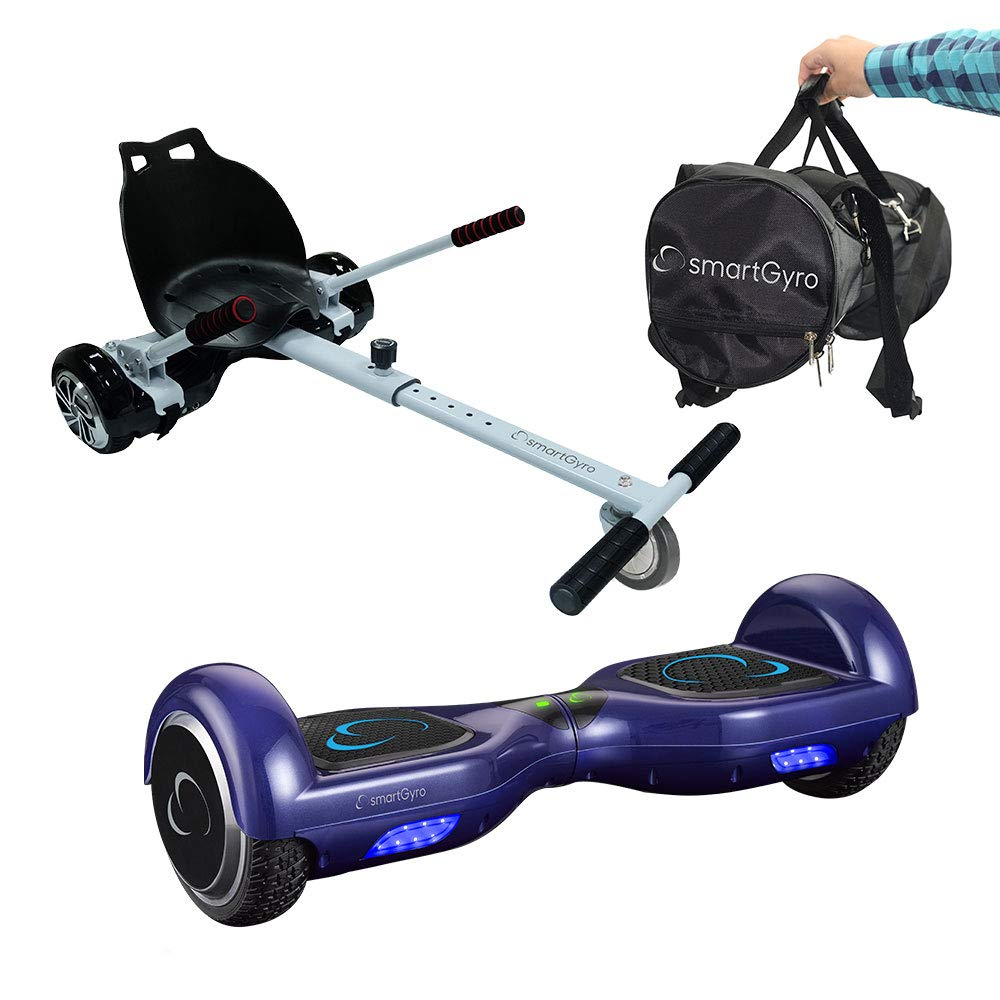 Pack Hoverboard SmartGyro X1s Blue