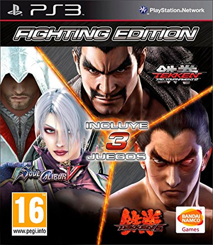 Tekken 6 + Tekken Tag Tournament 2 + Soulcalibur V
