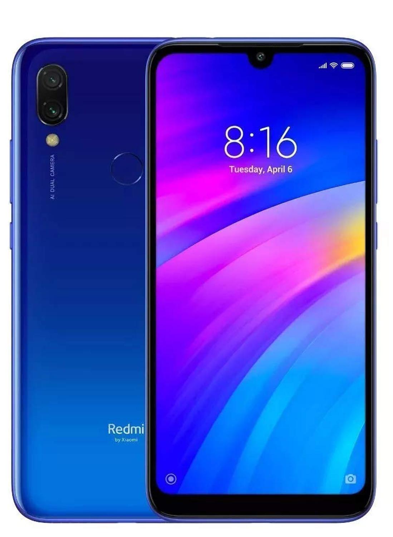 Xiaomi Redmi 7 15 9 cm (6 26) 3 GB 32 GB SIM Doble 4G Azul 4000 mAh - Smartphone