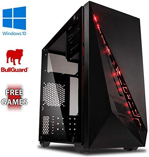 AX-5 Gaming PC Ordenador de sobremesa con 2 Juegos Gratis amazon