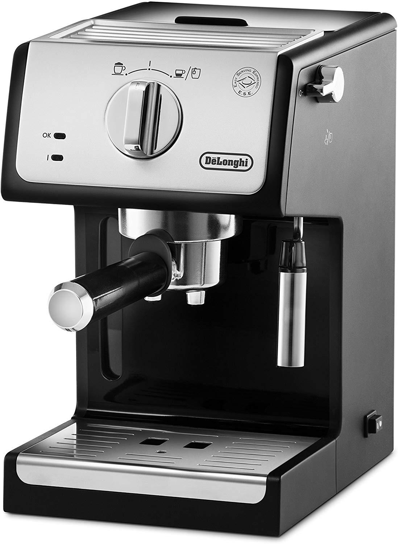 De'longhi ECP33.21 - Cafetera espresso, 1100w, capacidad 1,1l, café molido y monodosis