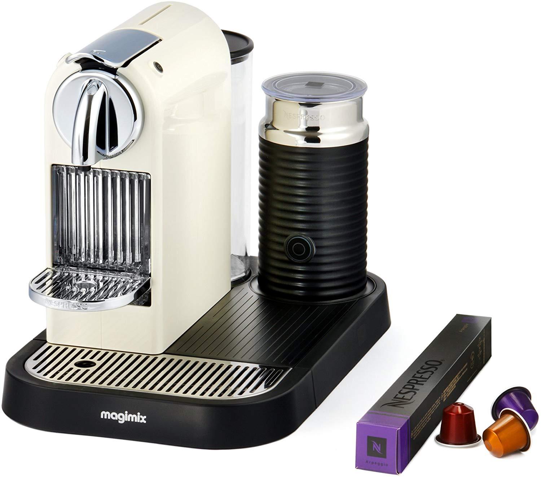 Nespresso CitiZ & Milk M190 - Cafetera de cápsulas