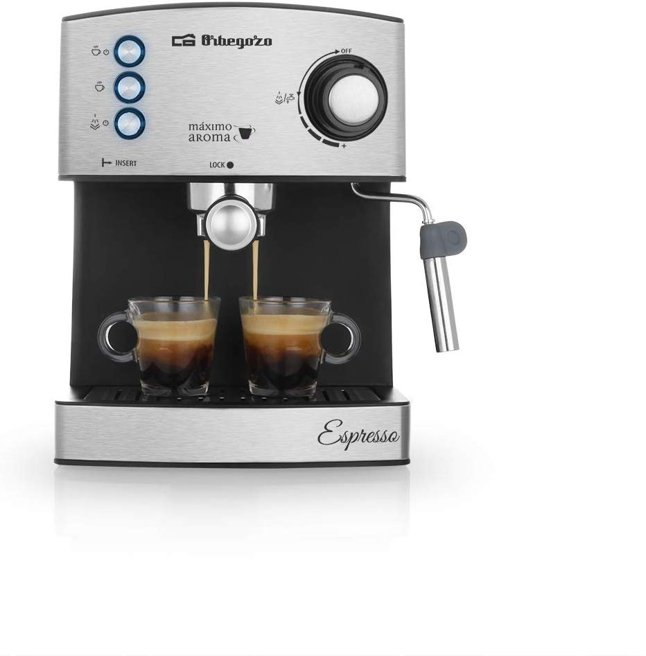 Orbegozo EX 3050 Cafetera Espresso con Bomba Italiana