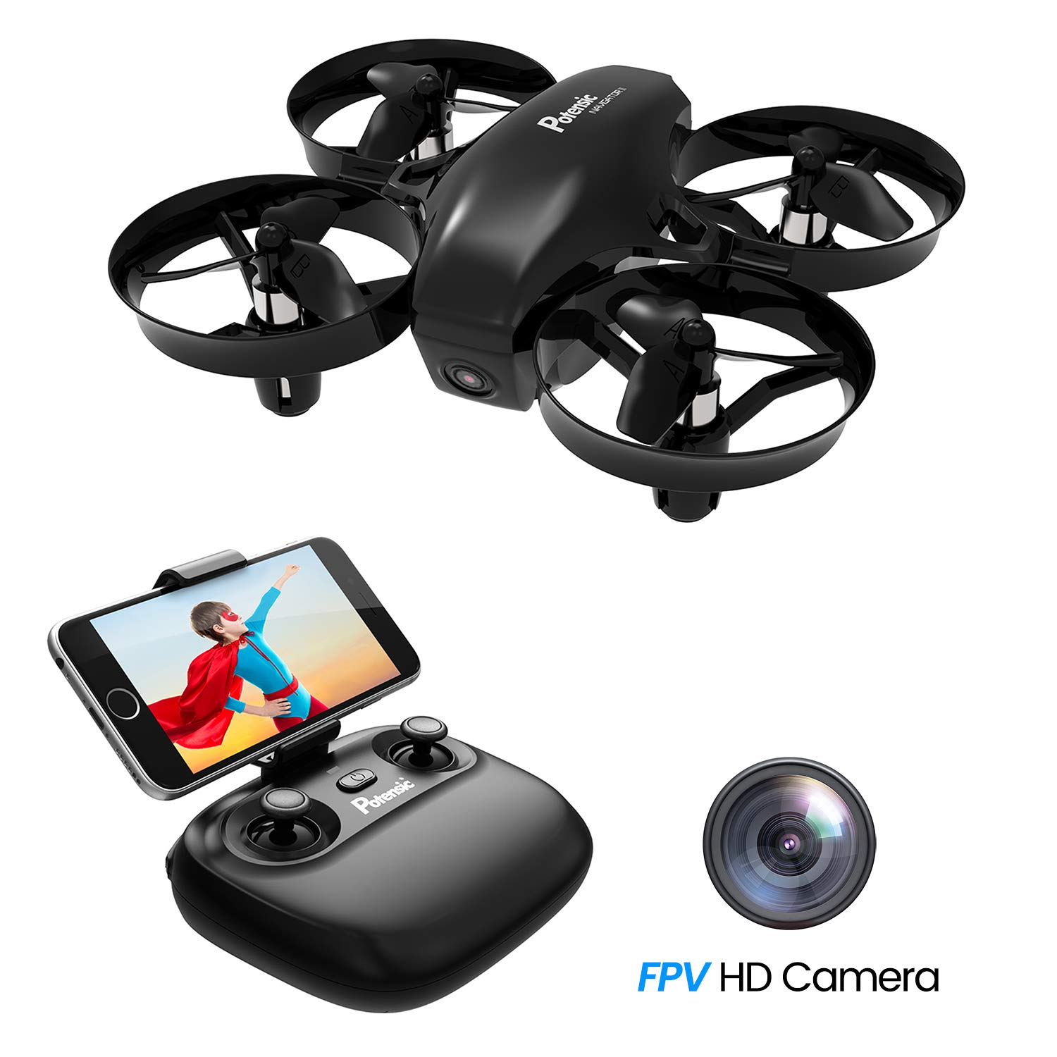 Potensic Drone con Cámara HD-Mini