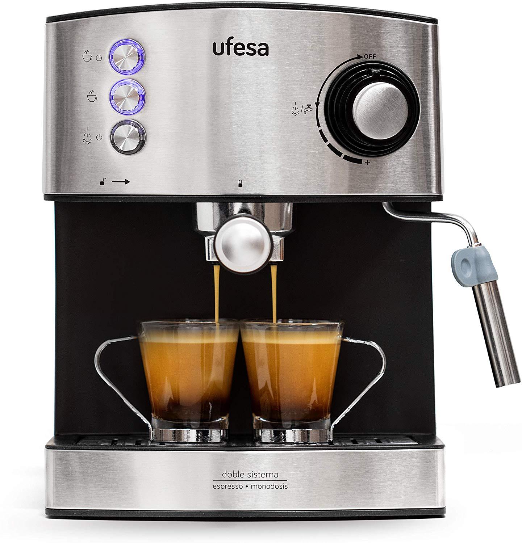 Ufesa CE7240 - Cafetera Espresso, 850W amazon