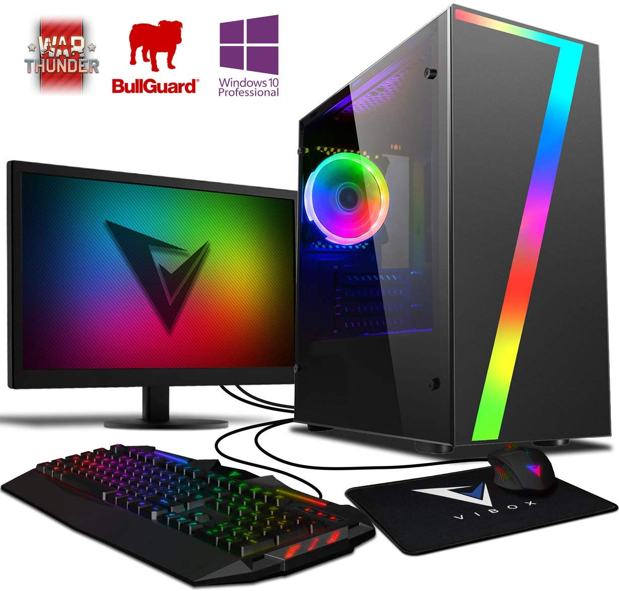 Vibox Pyro GS450-100 Gaming PC Ordenador de sobremesa