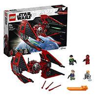 LEGO Star Wars - Caza TIE del Mayor Vonreg, juguete de construcción de Nave Espacial para recrear las Aventuras de La Guerra de las Galaxias , Incluye Minifiguras de Personajes de la Saga