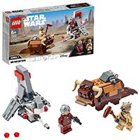 LEGO Star Wars TM - Microfighters: Saltacielos T-16 vs. Bantha, juguete de La Guerra de las Galaxias Una nueva esperanza