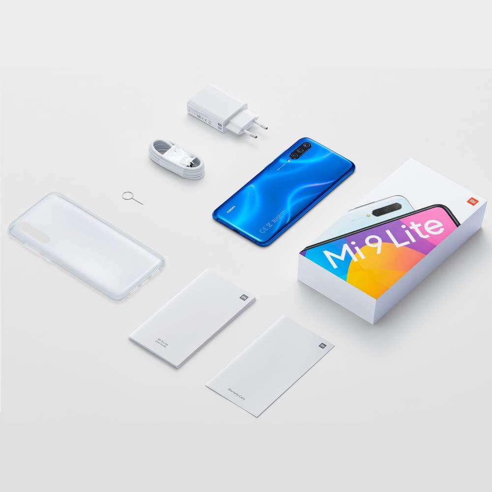 "Xiaomi Mi 9 Lite RAM 6GB ROM 64GB 48MP AI Triple Camera 6.39"" Versión Global Azul"