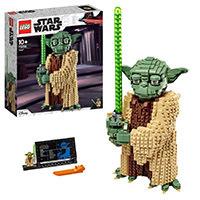 LEGO Star Wars TM - Yoda, Set de construcción del Personaje Jedi